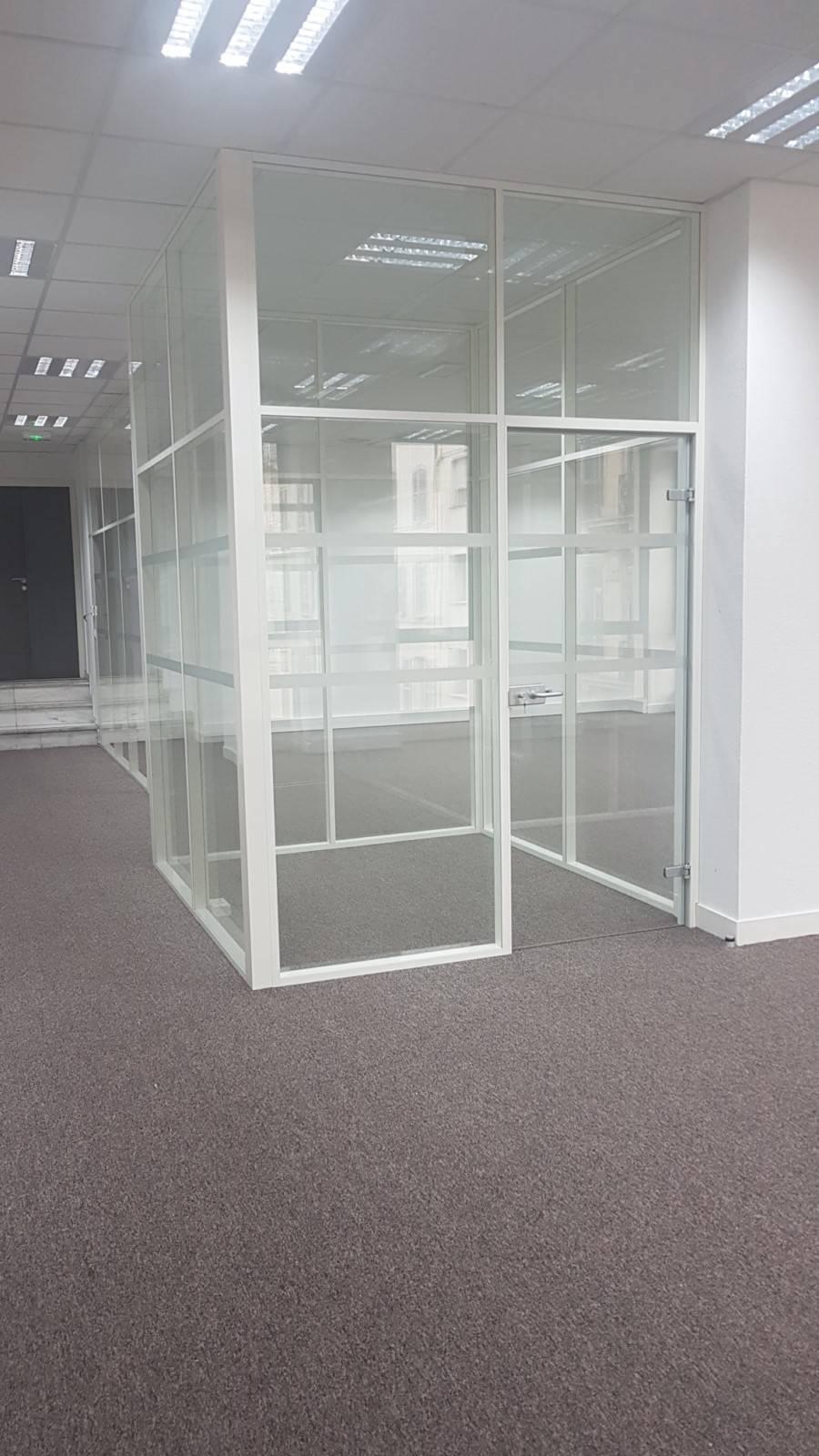 Cloison vitrées toute hauteur pour créer des espaces