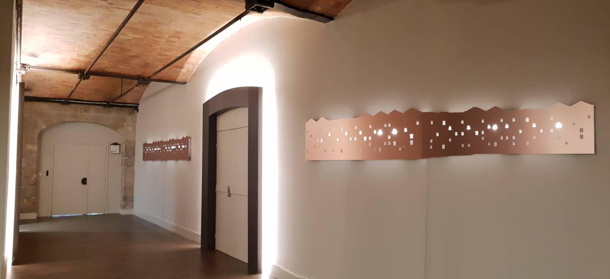 Pose de sol PVC dans Halls refait à neuf sur Marseille